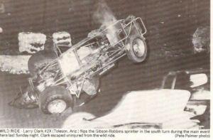 Ascot Larry Clark Wreck