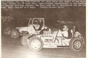 Ascot  Num 7 Carl Adams In Blair Car And Curt Waters