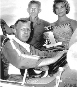 Harold Leep, Chet Wilson & Trophy Girl 1960